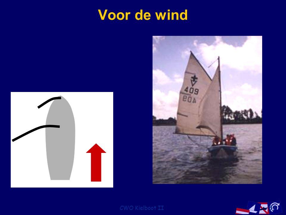 Voor de wind CWO Kielboot II