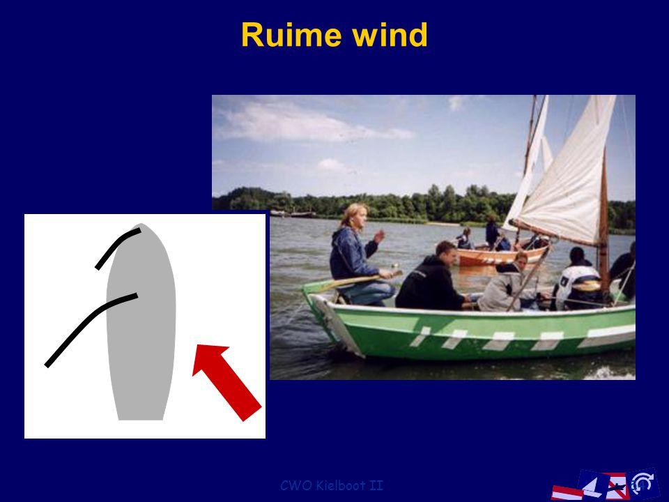 Ruime wind CWO Kielboot II