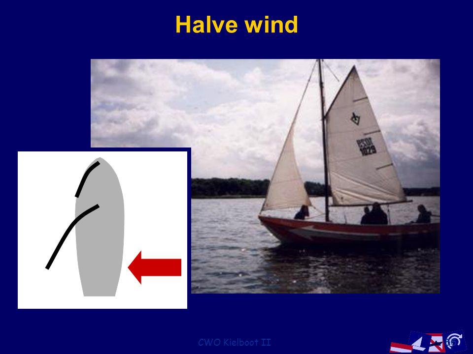 Halve wind CWO Kielboot II