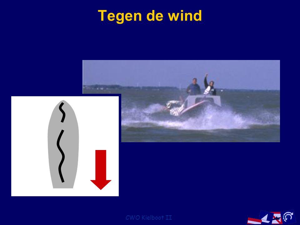 Tegen de wind CWO Kielboot II