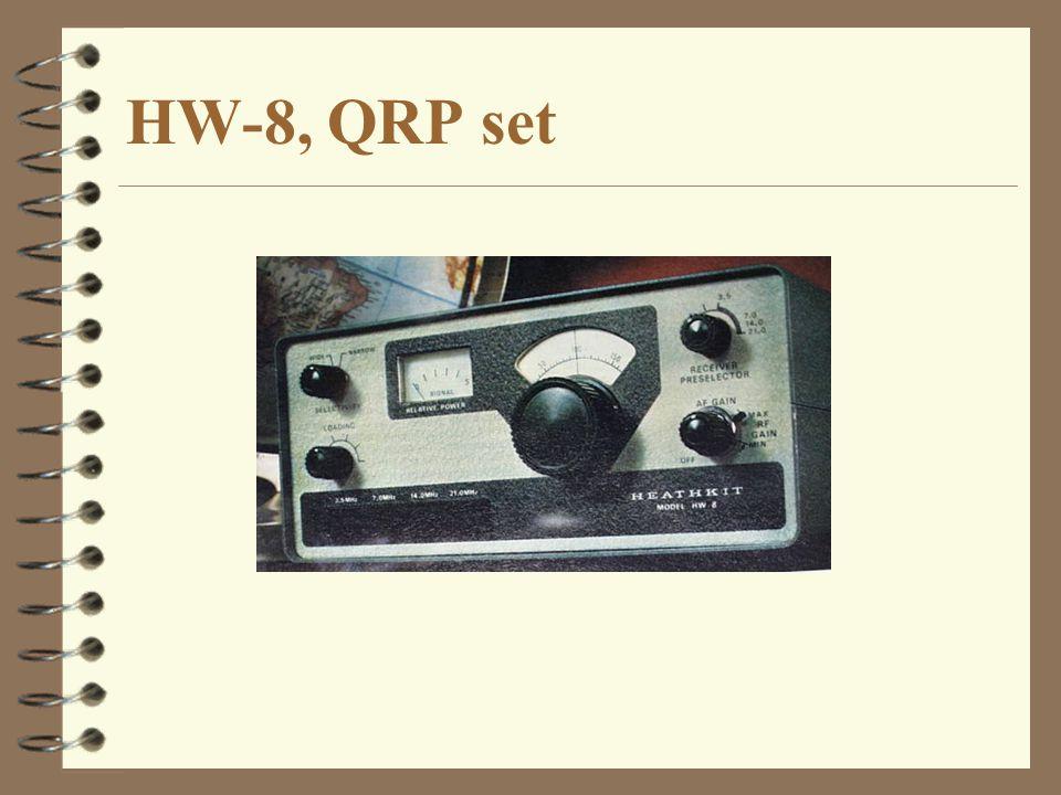 HW-8, QRP set