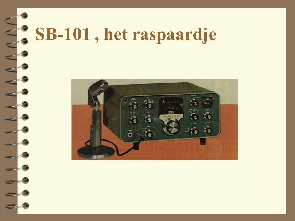 SB-101 , het raspaardje