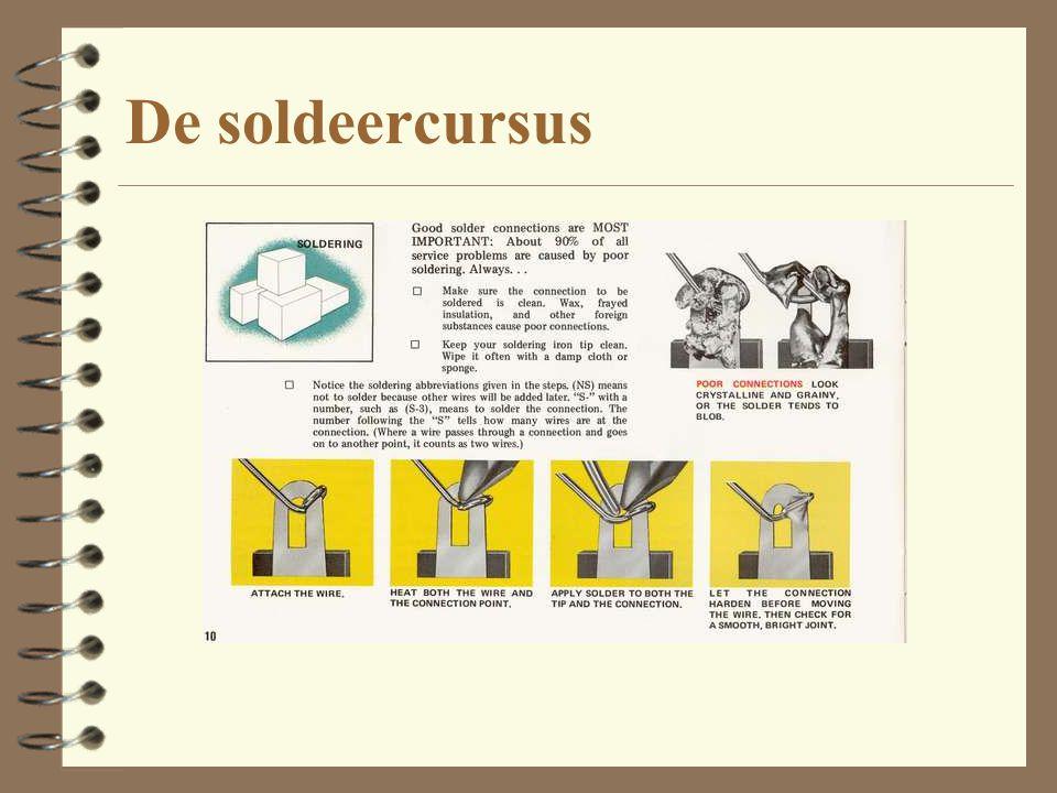 De soldeercursus