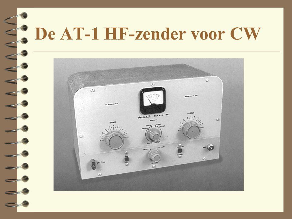 De AT-1 HF-zender voor CW