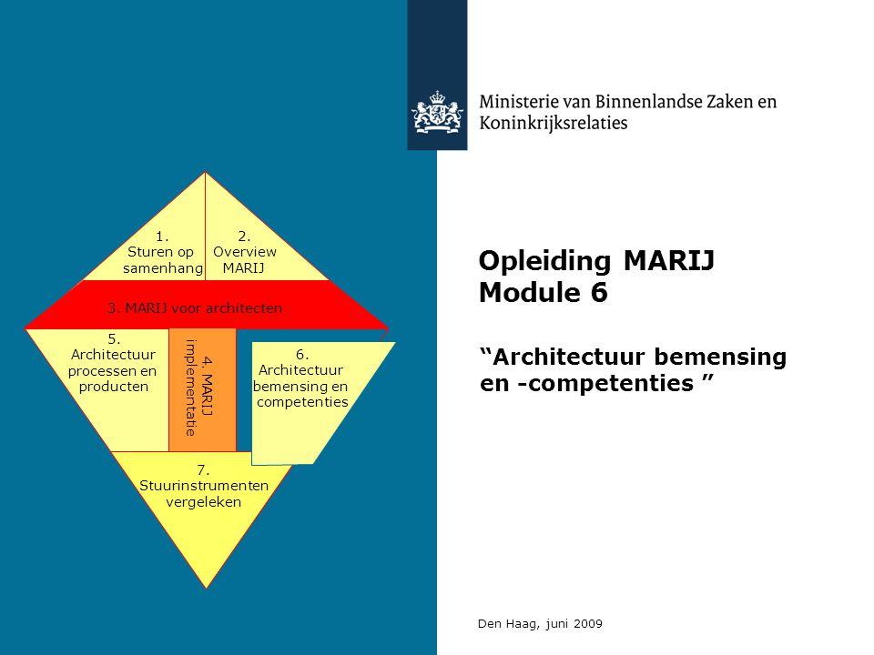 Opleiding MARIJ Module 6