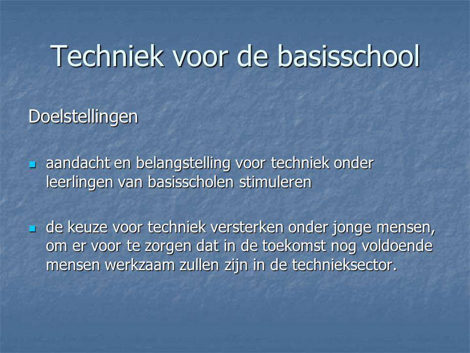 Techniek voor de basisschool