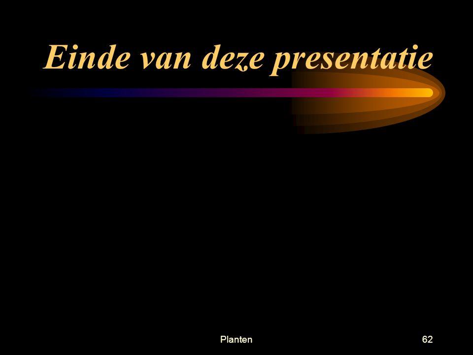 Einde van deze presentatie
