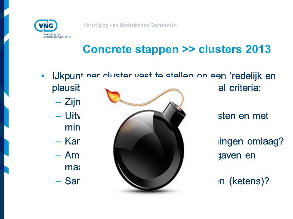 Concrete stappen >> clusters 2013
