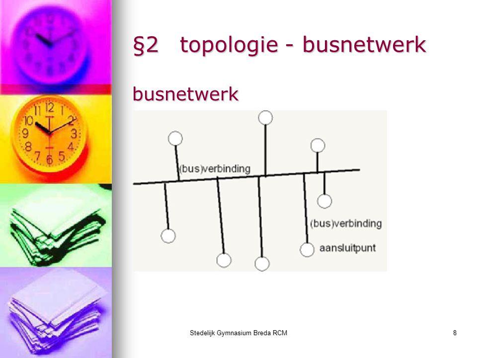 §2 topologie - busnetwerk