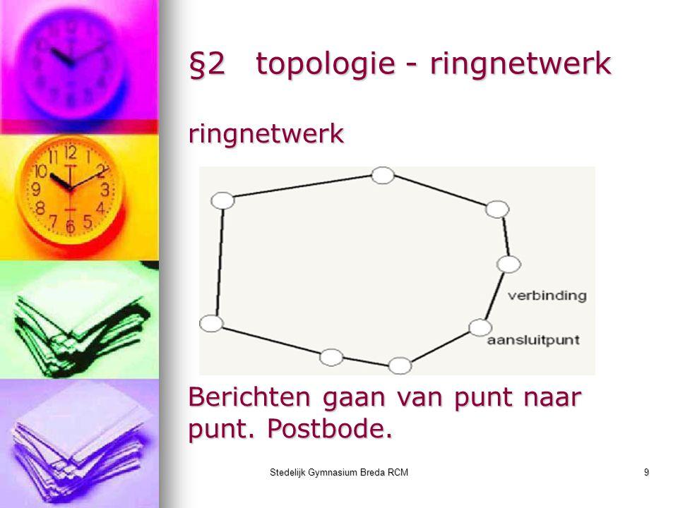 §2 topologie - ringnetwerk