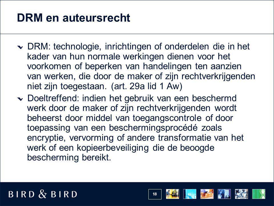 DRM en auteursrecht