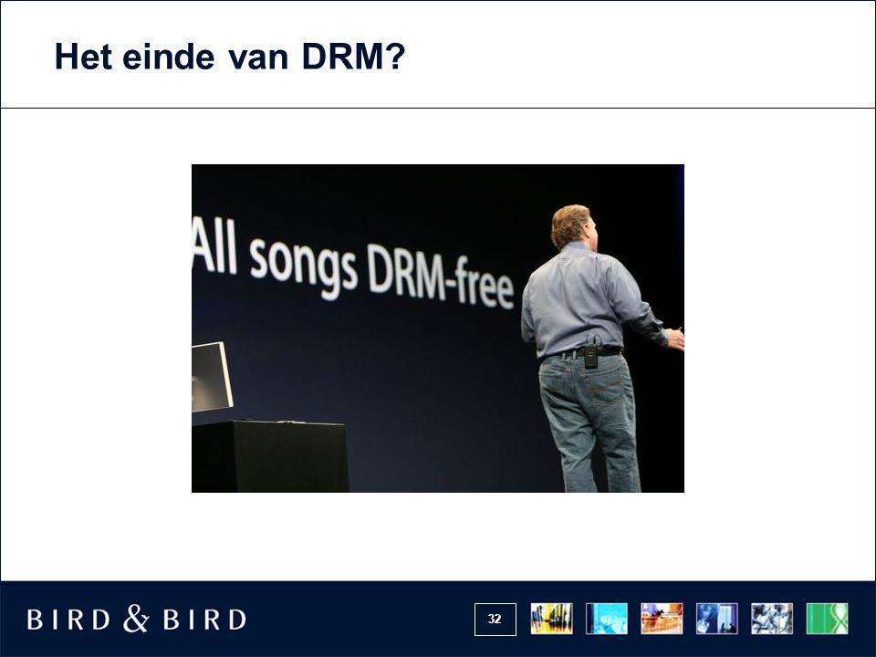 Het einde van DRM