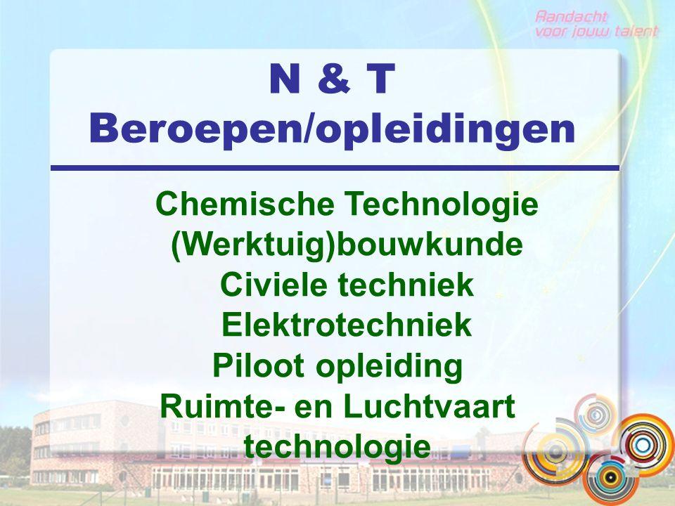 N & T Beroepen/opleidingen