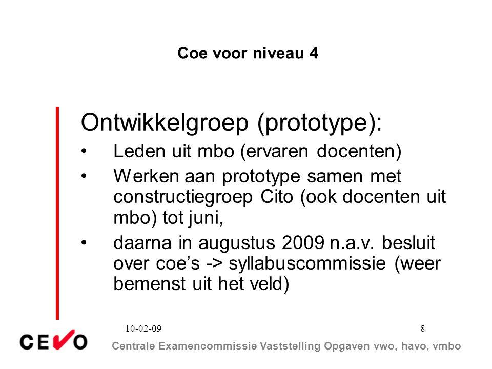 Ontwikkelgroep (prototype):