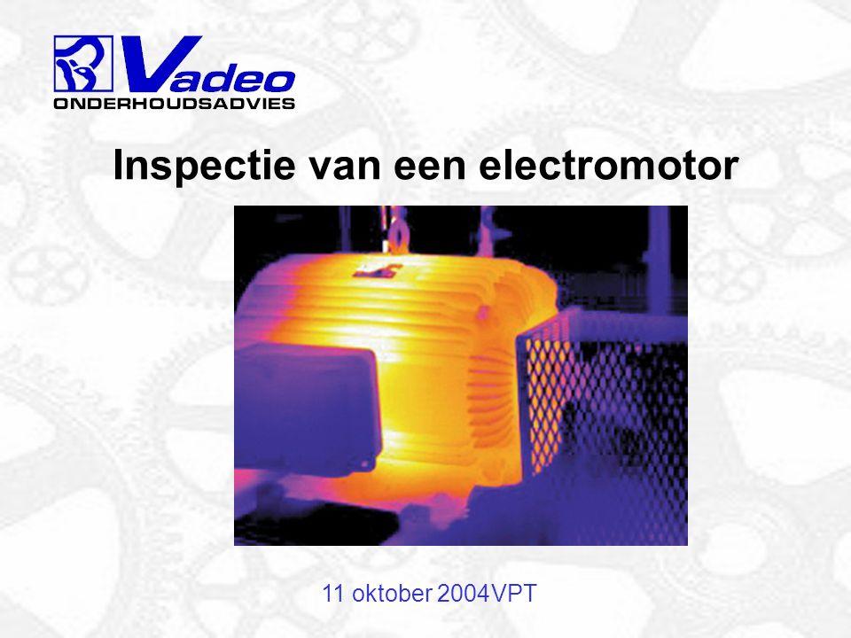 Inspectie van een electromotor