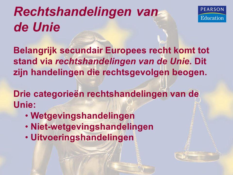Rechtshandelingen van de Unie