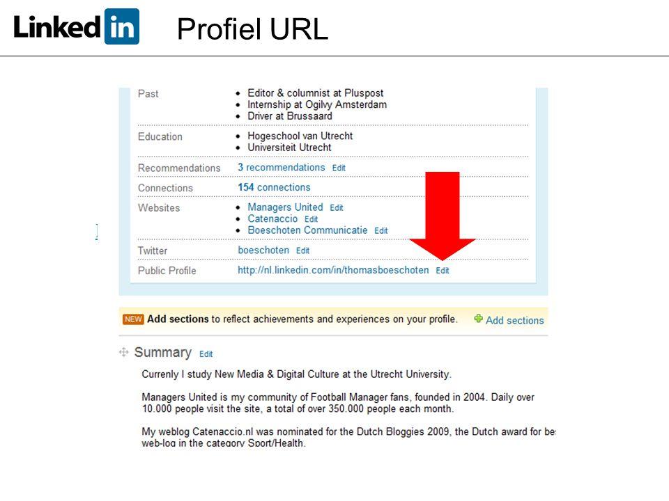 Versimpel de URL naar je profiel!