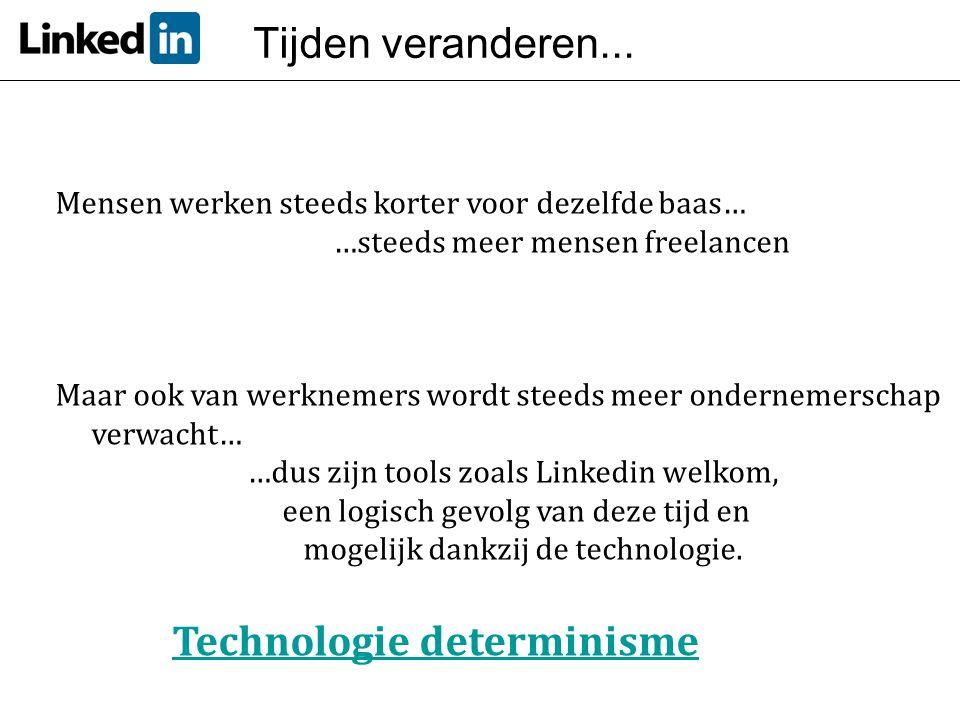 Technologie determinisme
