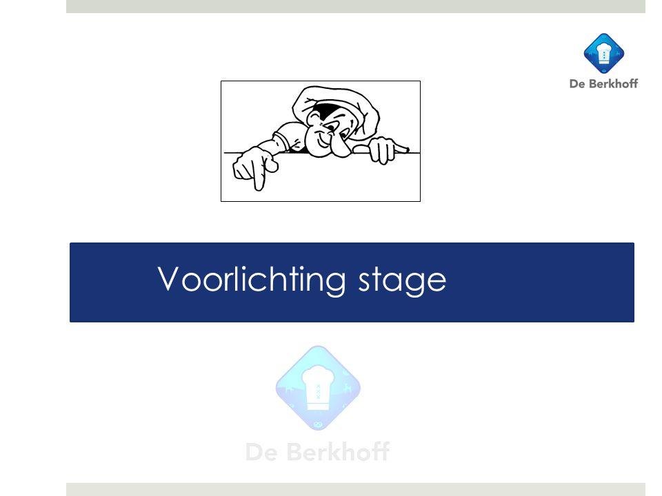 Voorlichting stage