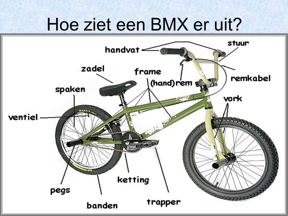 Hoe ziet een BMX er uit