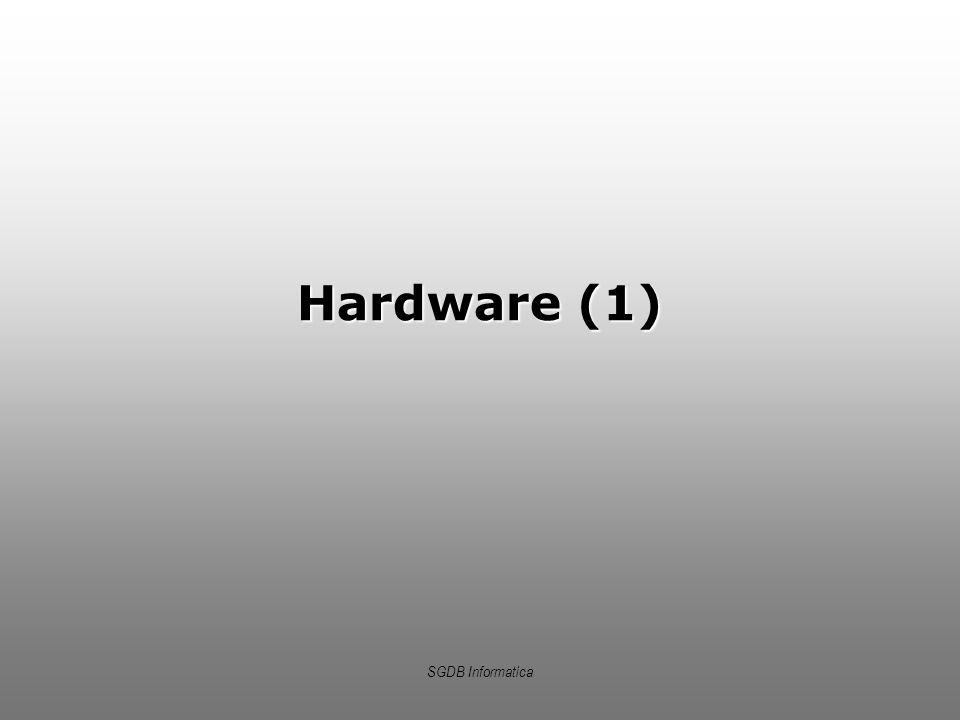 Hardware (1) SGDB Informatica
