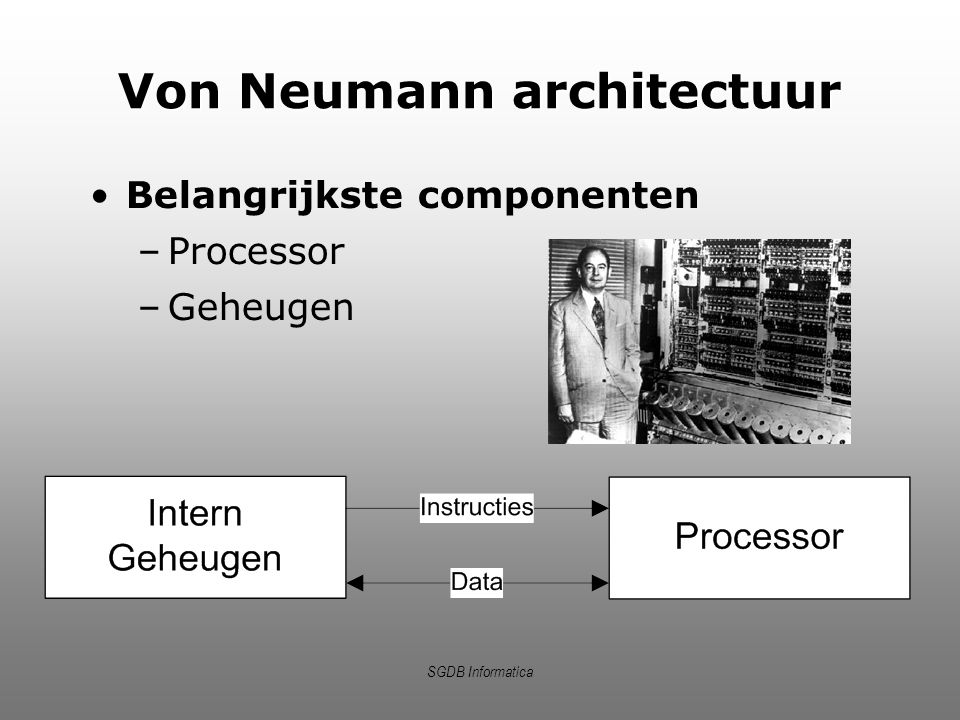 Von Neumann architectuur