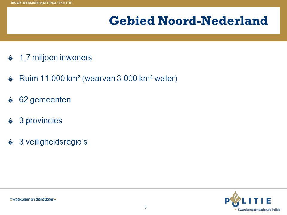 Gebied Noord-Nederland