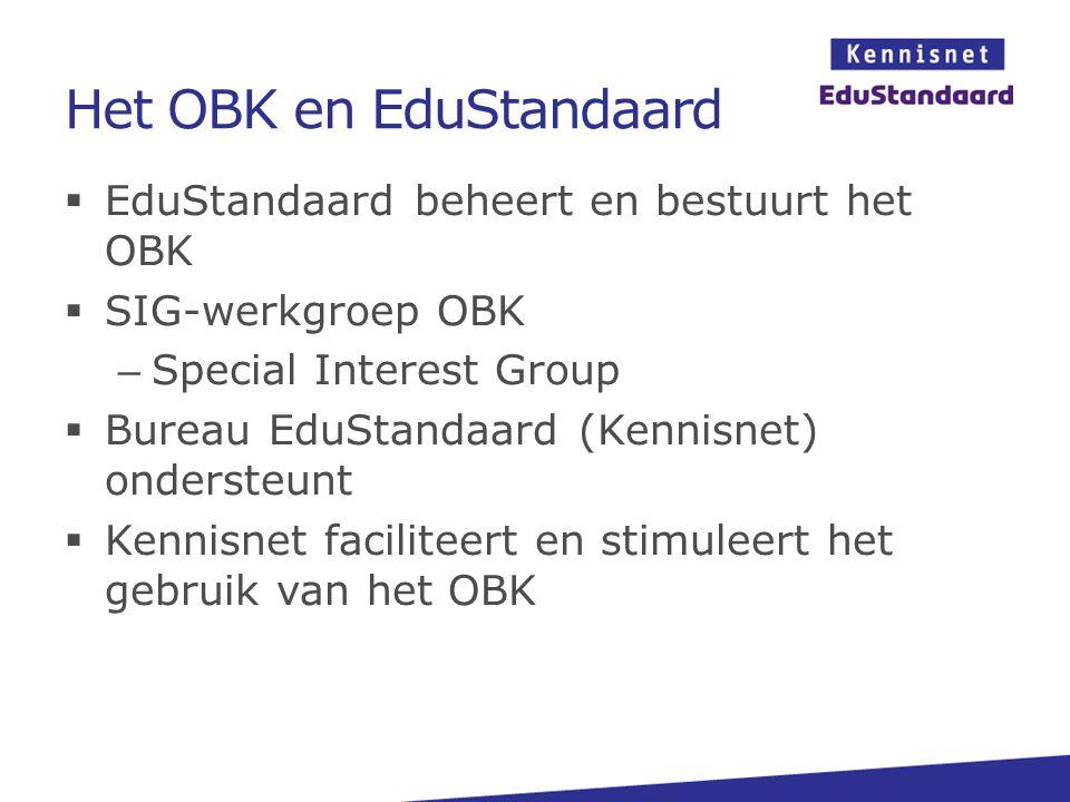 Het OBK en EduStandaard