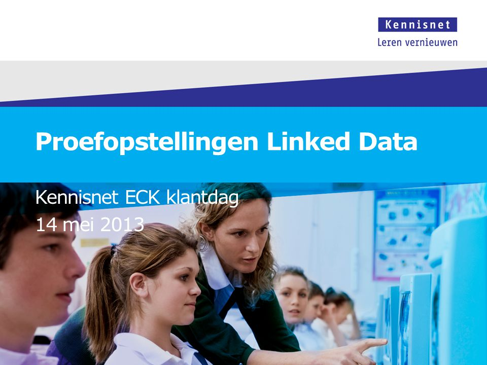 Proefopstellingen Linked Data