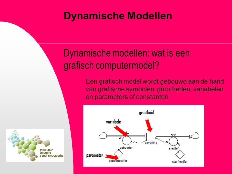 Dynamische Modellen Dynamische modellen: wat is een grafisch computermodel