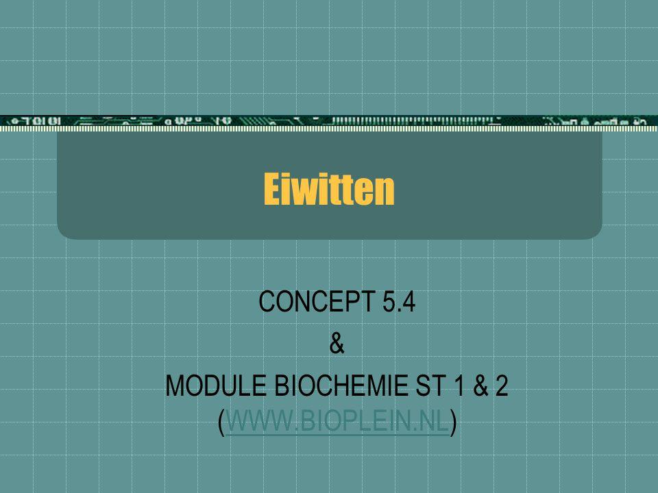 CONCEPT 5.4 & MODULE BIOCHEMIE ST 1 & 2 (WWW.BIOPLEIN.NL)