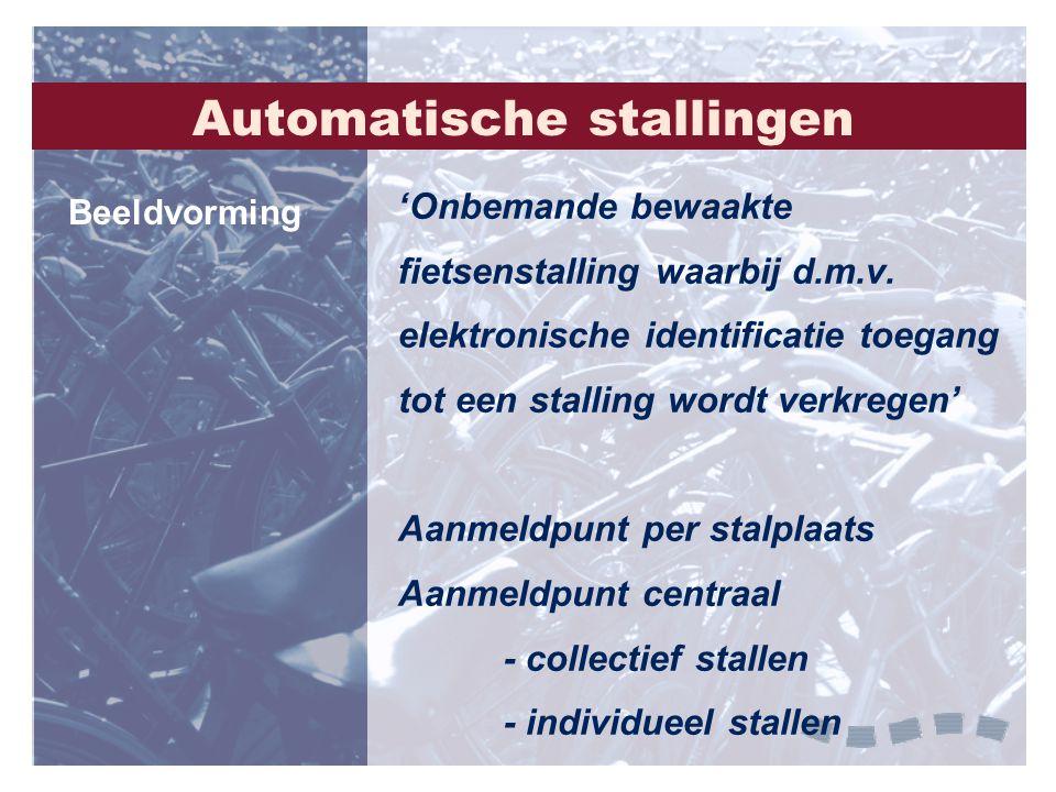 Automatische stallingen