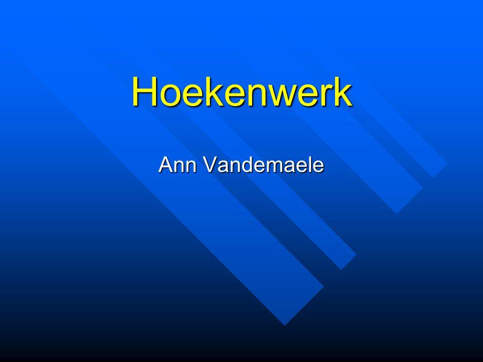 Hoekenwerk Ann Vandemaele