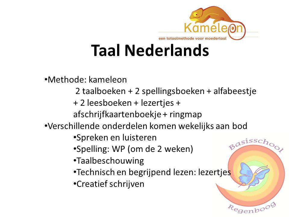 Taal Nederlands Methode: kameleon