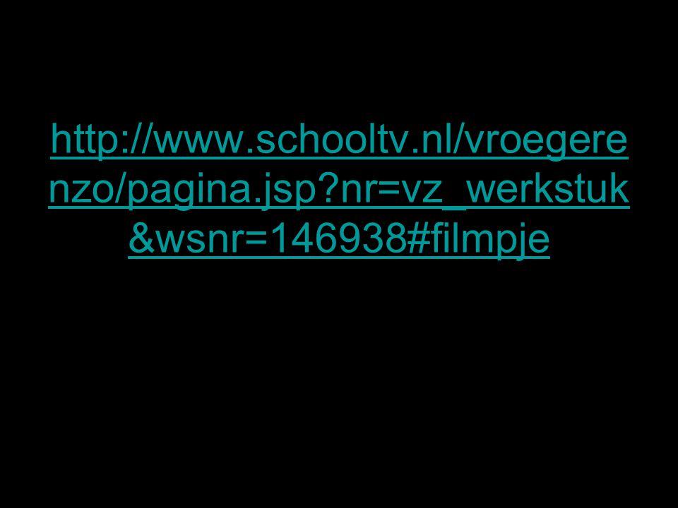 http://www. schooltv. nl/vroegerenzo/pagina. jsp
