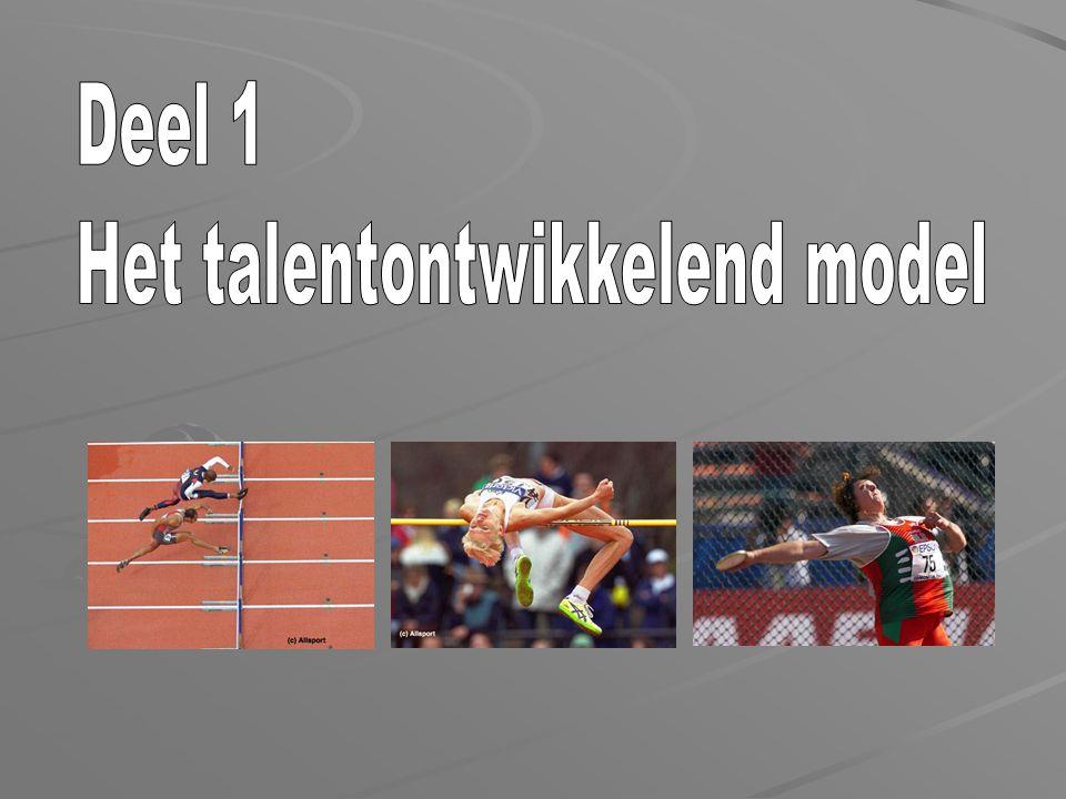 Het talentontwikkelend model