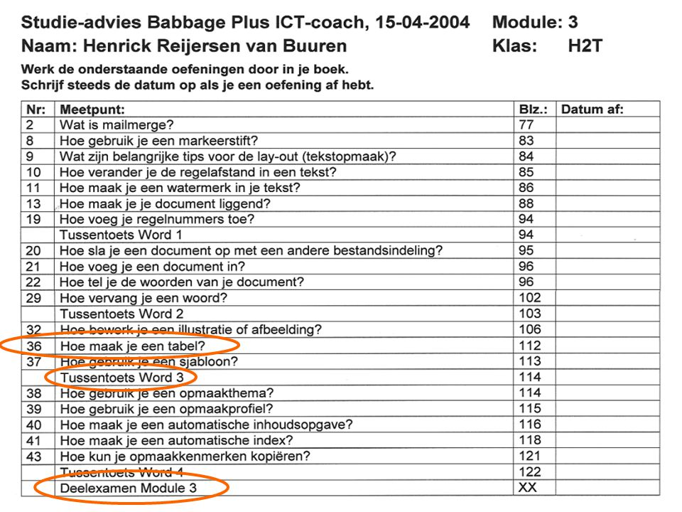 ICT-dag, Babbage ICT Coach