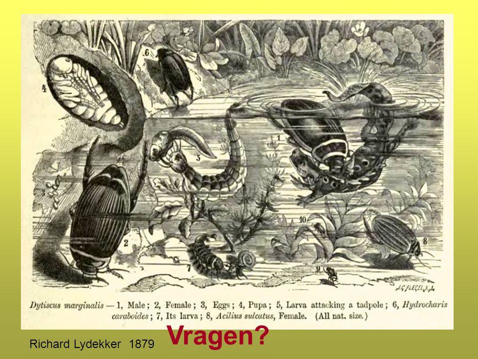 Vragen Richard Lydekker 1879