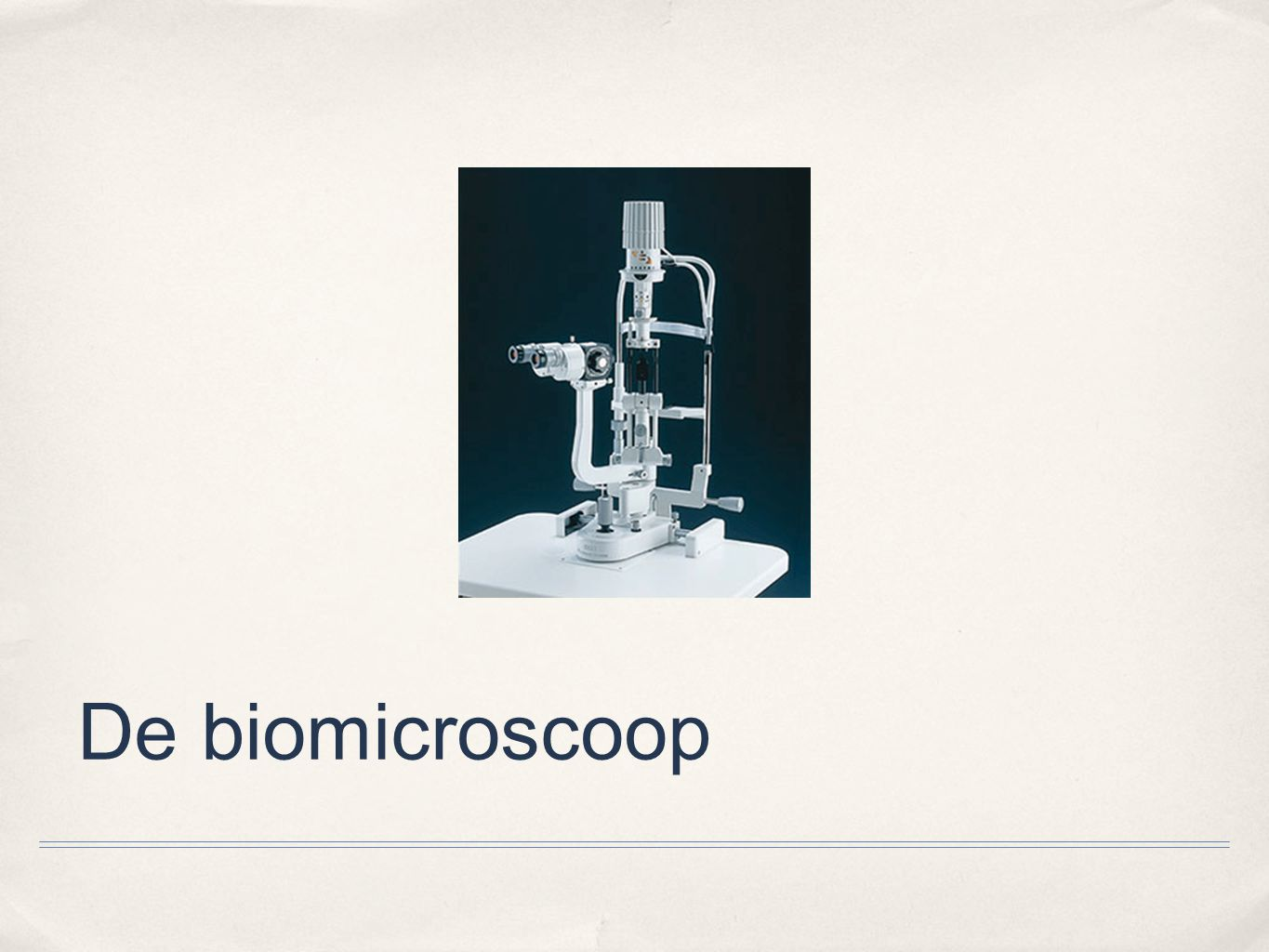 De biomicroscoop