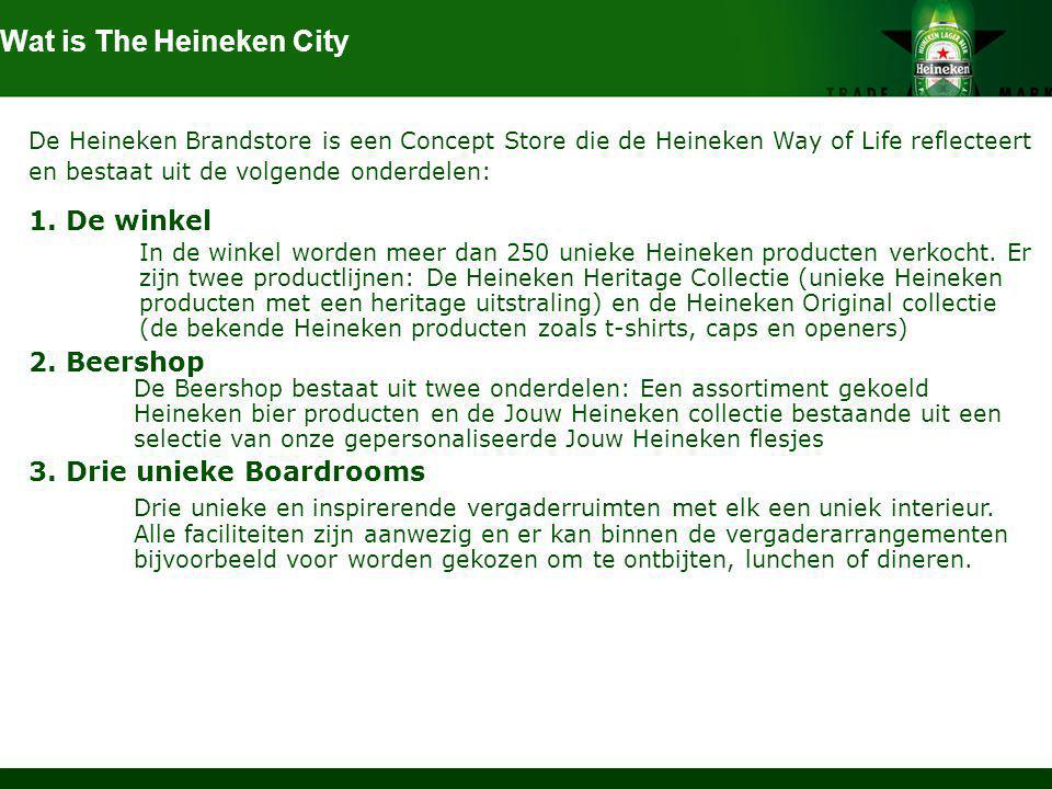 Wat is The Heineken City
