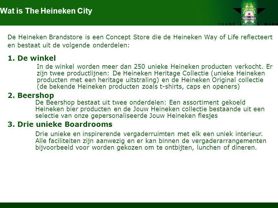 Wat is The Heineken City