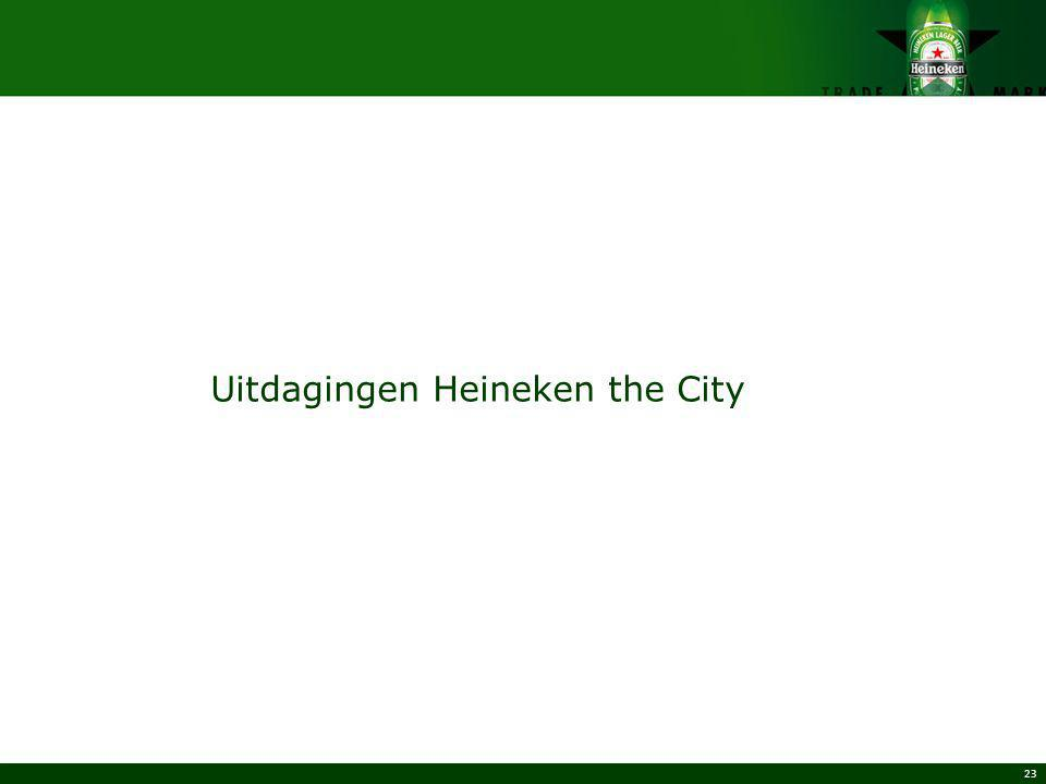 Uitdagingen Heineken the City