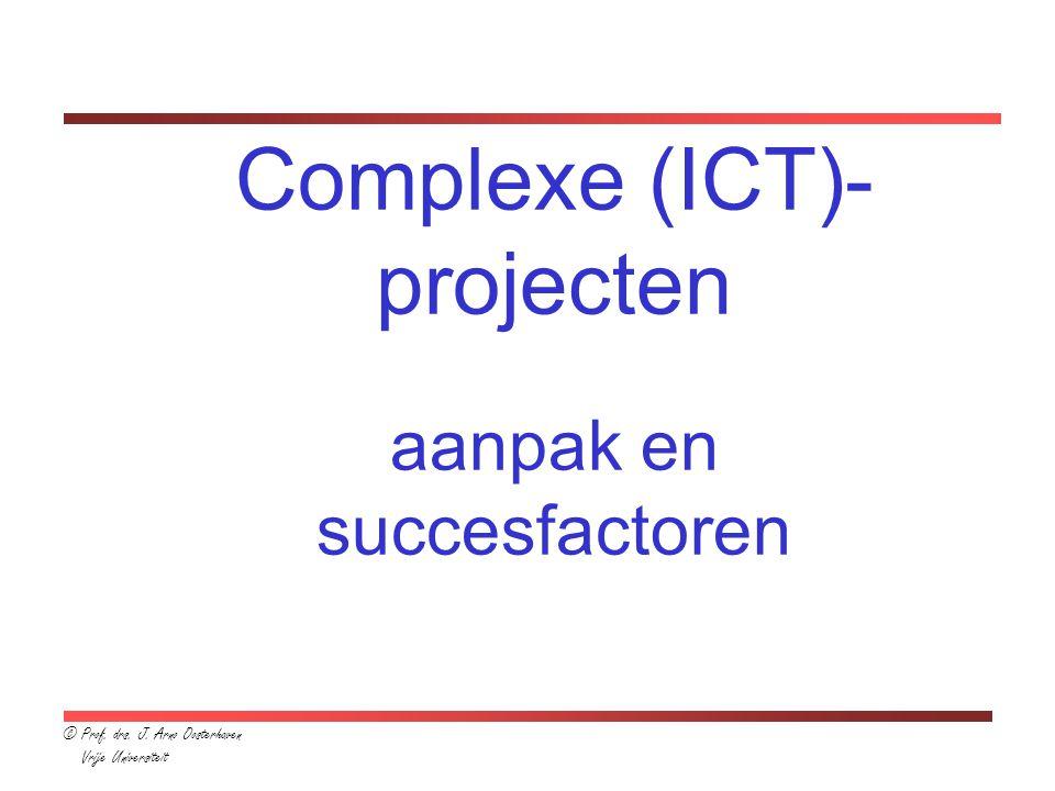 Complexe (ICT)-projecten