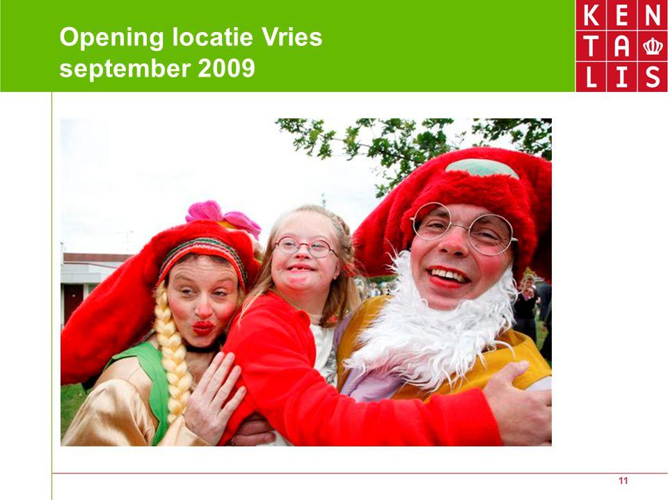 Opening locatie Vries september 2009