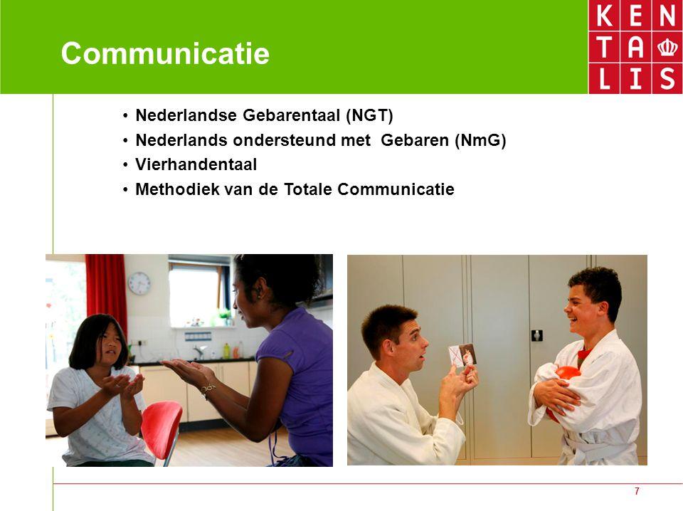 Communicatie Nederlandse Gebarentaal (NGT)