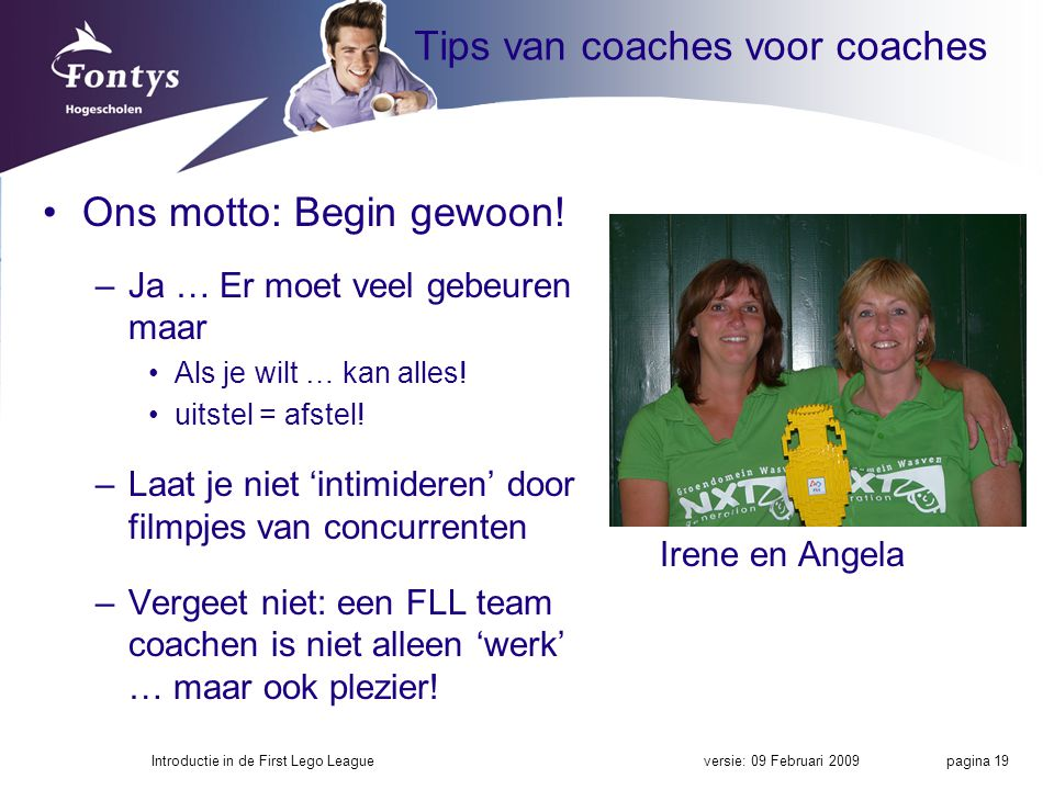 Tips van coaches voor coaches