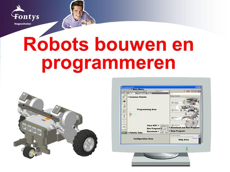 Robots bouwen en programmeren