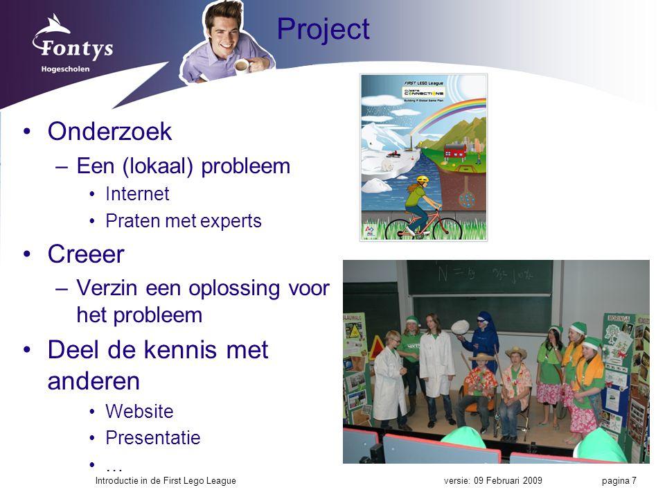 Project Onderzoek Creeer Deel de kennis met anderen