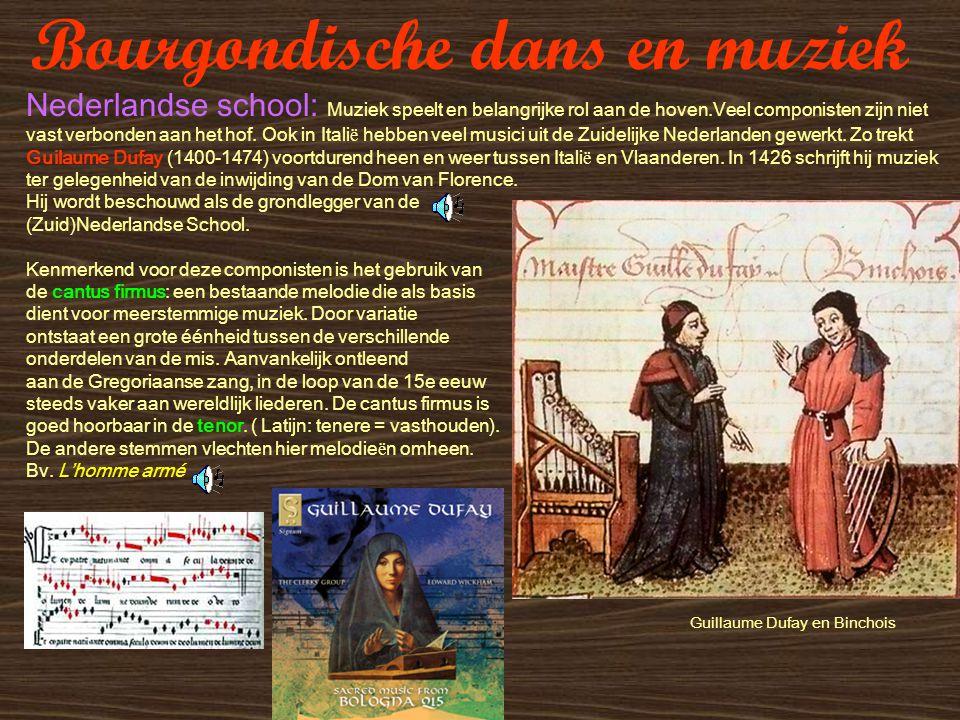 Bourgondische dans en muziek