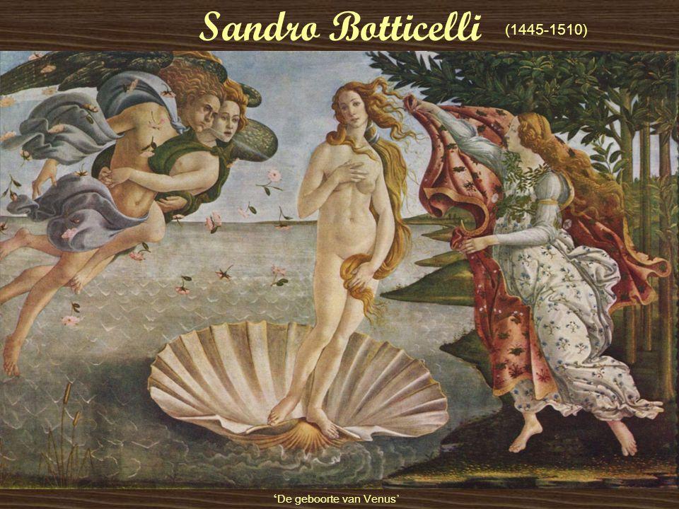 Sandro Botticelli (1445-1510) 'De geboorte van Venus'
